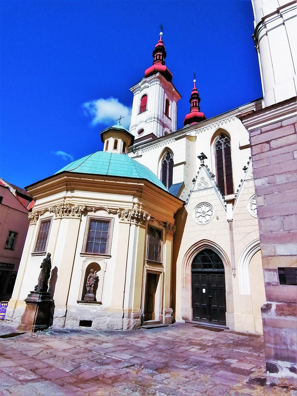 Chrám Nanebevzetí Panny Marie v Žatci vznikl už na začátku 11. století