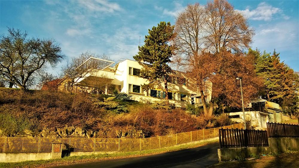Hajnova vila ve Vysočanech