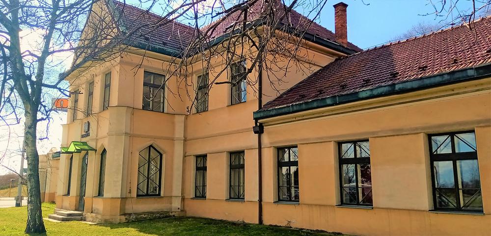 Kubistická vila Františky Lipčíkové v Olomouci