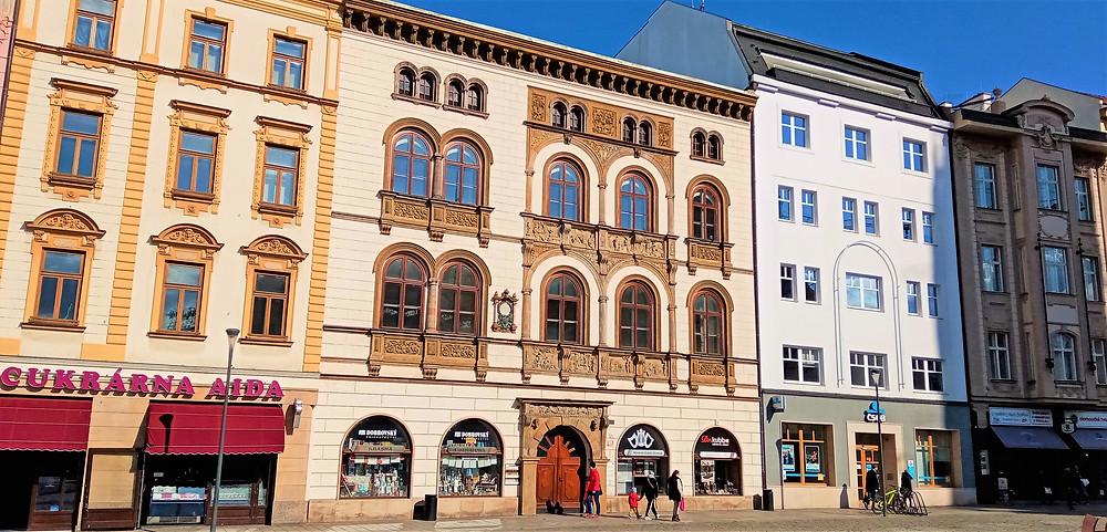 Edelmanův palác na olomouckém Horním náměstí