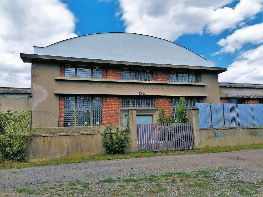 Bývalá čerpací stanice surové vody ve Staňkovicích
