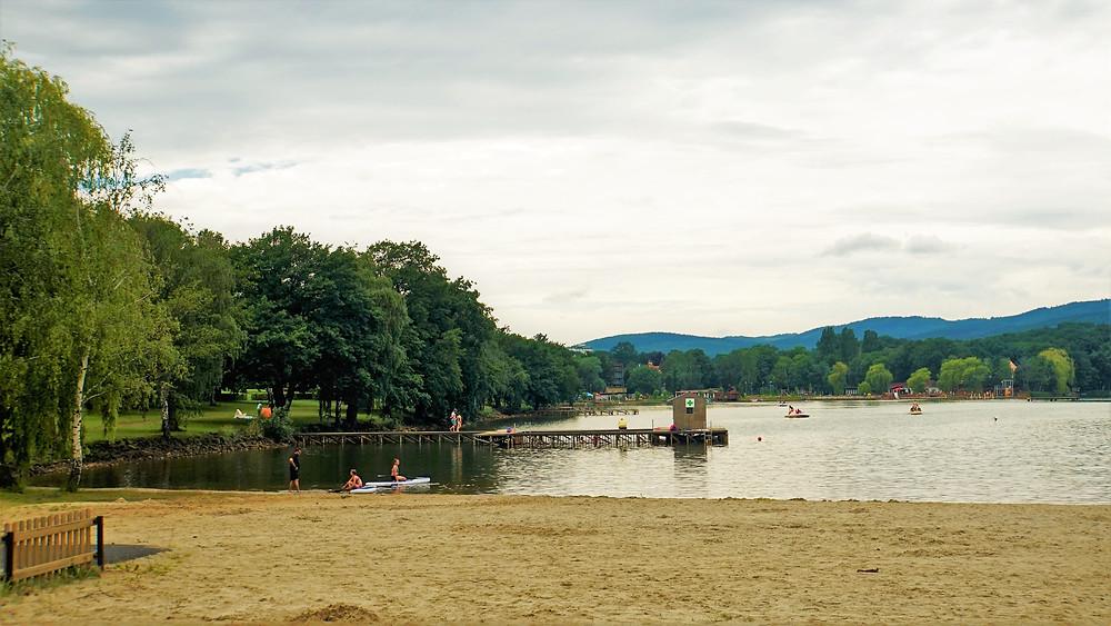 Světový unikát Kamencové jezero v Chomutově
