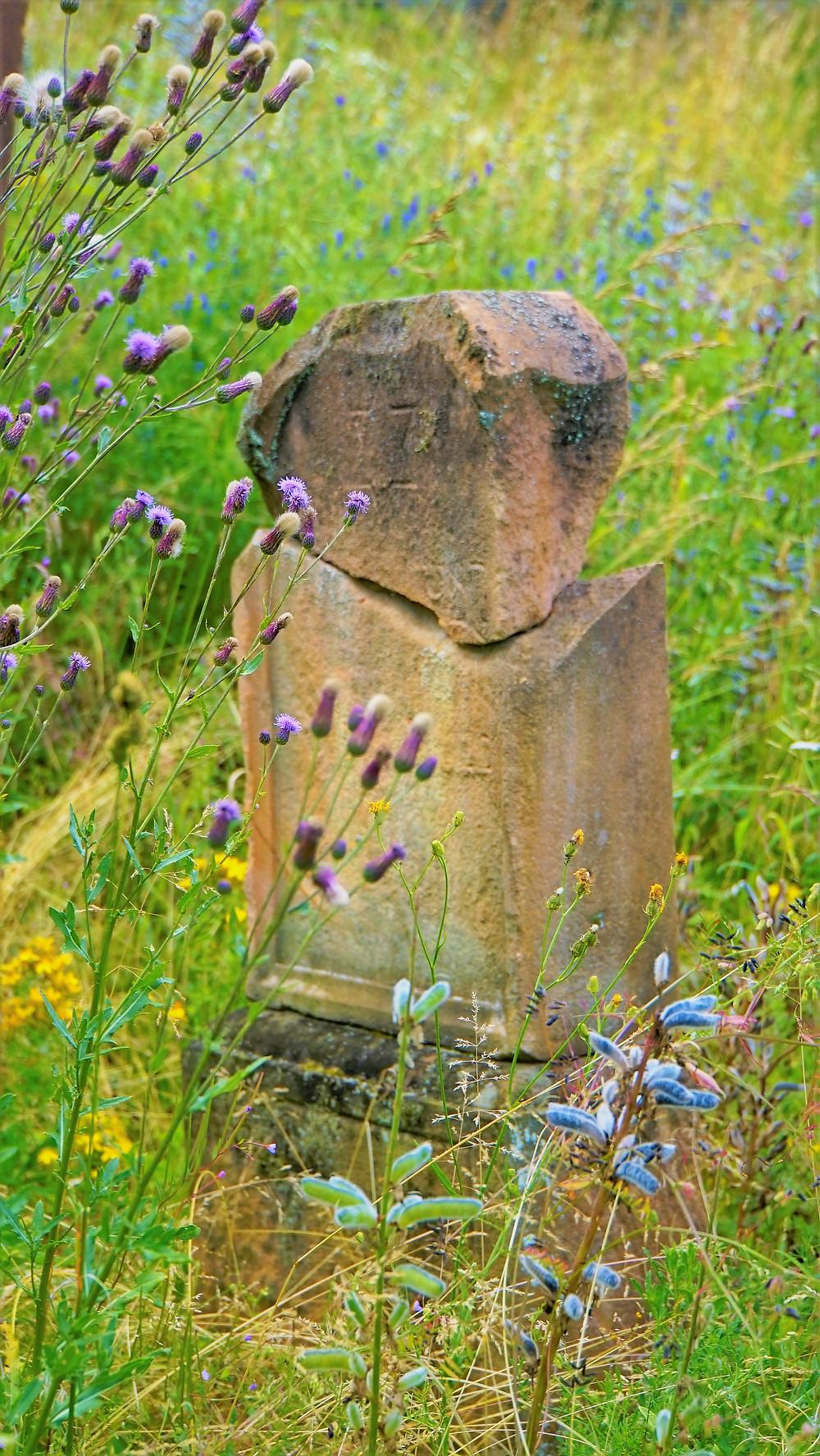 Na židovském hřbitově v Podbořanském Rohozci