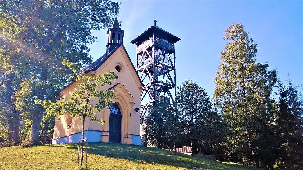 Kaple svaté Markéty, rozhledna Markéta n