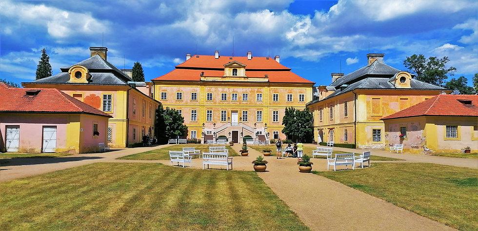 Národní kulturní památka zámek Krásný Dvůr