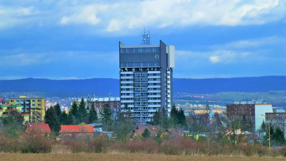 Unikátní stavba v Olomouci - Věžový vodojem Tabulový vrch