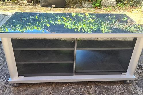 TV Schrank mit Glasplatte