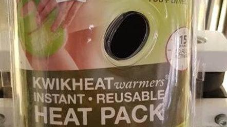 Kwik Heat Wärmepackung für Knie