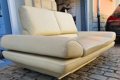 Designer Ledersofa Set aus 2e  & 3e Sitzer