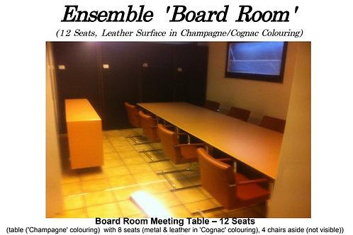 Designer Konferenzset -2 Tische -12 Swingstühle & Sideboard