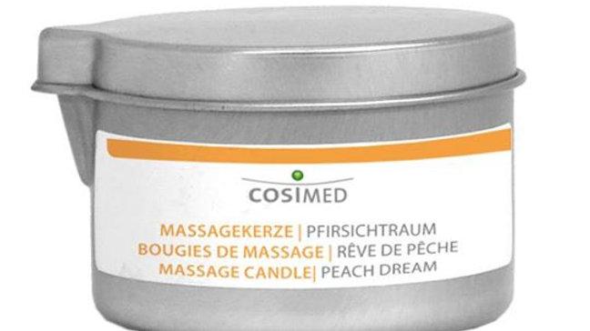 Massagekerze Pfirsichtraum