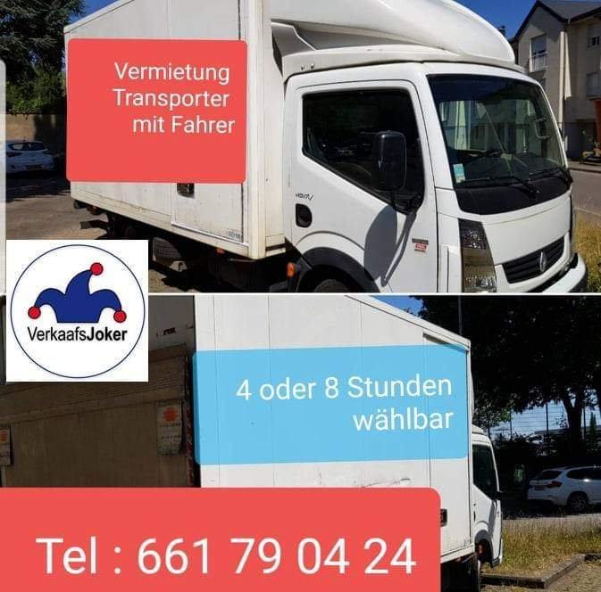 Transporter/Fahrerbuchung 4ST.
