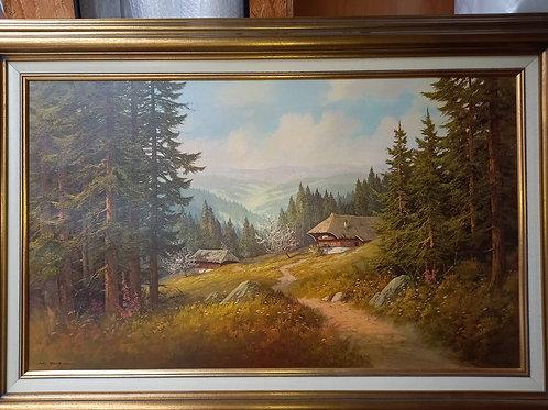"Grosses Landschaftsbild ""Schwarzwald'"