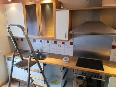 Abbau alter Küche & Entsorgung