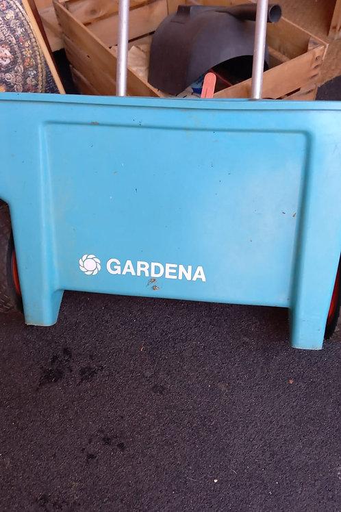 Gardena Streuwagen / Rasendünge Wagen