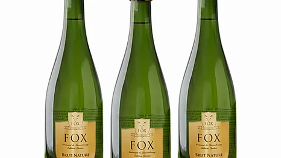 3er Box  Fox Crémant Brut Nature Low Carb