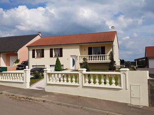 Schönes modernes Haus in Haute Sierck  gelegen (Gemeinde Kerling les Sierck)