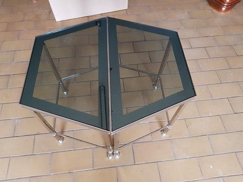 Robuster Glasbeistelltisch (Sofatisch )