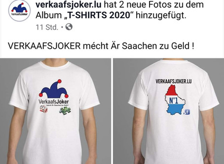 T-SHIRTS KOLLEKTION 2020
