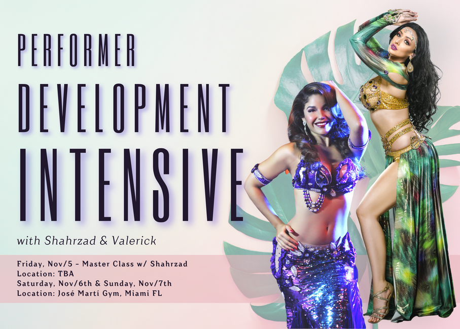 Performer Development Intensive