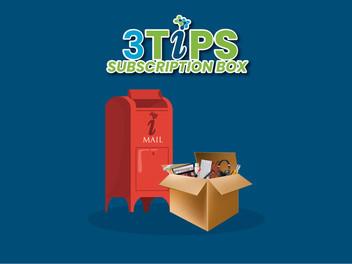 3 Tips Subscription Box