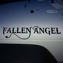 Fallen Angel Name Badge