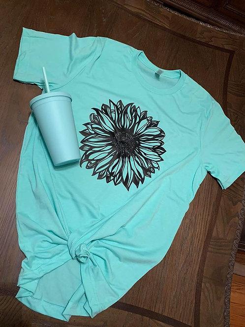 Black Sunflower Tshirts