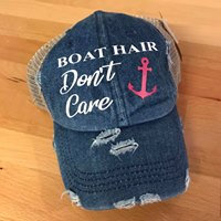 Boat Hair Pony Tail Hat