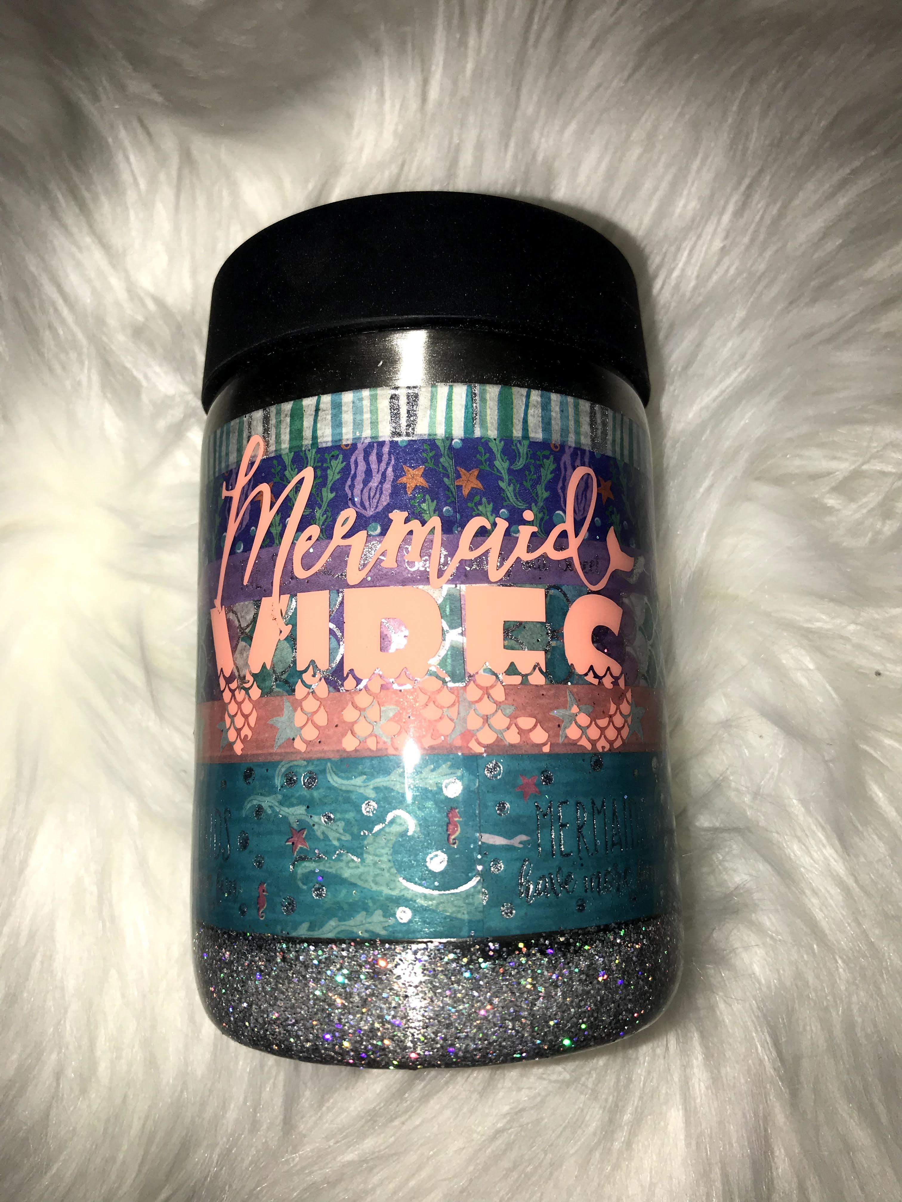 Thumbnail: Mermaid Vibes Can/bottle Koozie