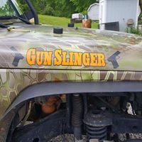 Gunslinger Name Badge