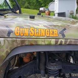 Gunslinger Name Badge