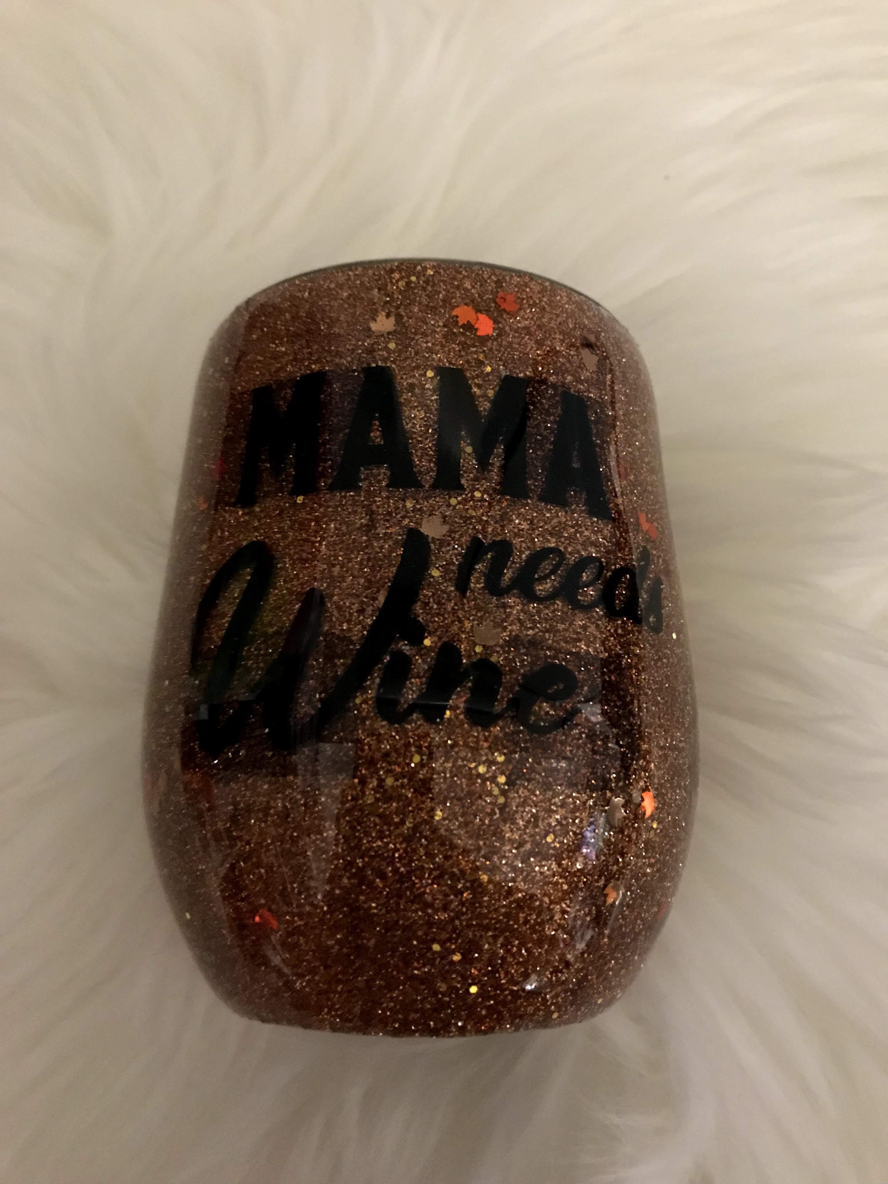 Thumbnail: wine tumbler plaid