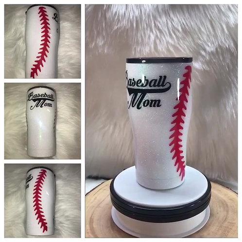 Baseball Mom Tumbler