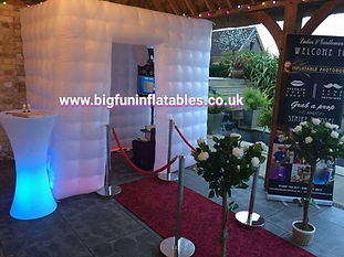 Inflatable Photo Booth, Inflatable Promotional Marquees & Tens, Promotional Booth