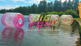 Big Fun Inflatable Aqua Roller Zorb Sale UK, Aqua Zorbs, Water Walkerz, Inflatable Water Products