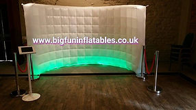 Square photo booth for sale, Inflatable Photo Wall for sale UK Supplier