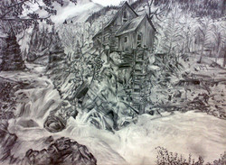 Lanscape (Pencil Drawing)