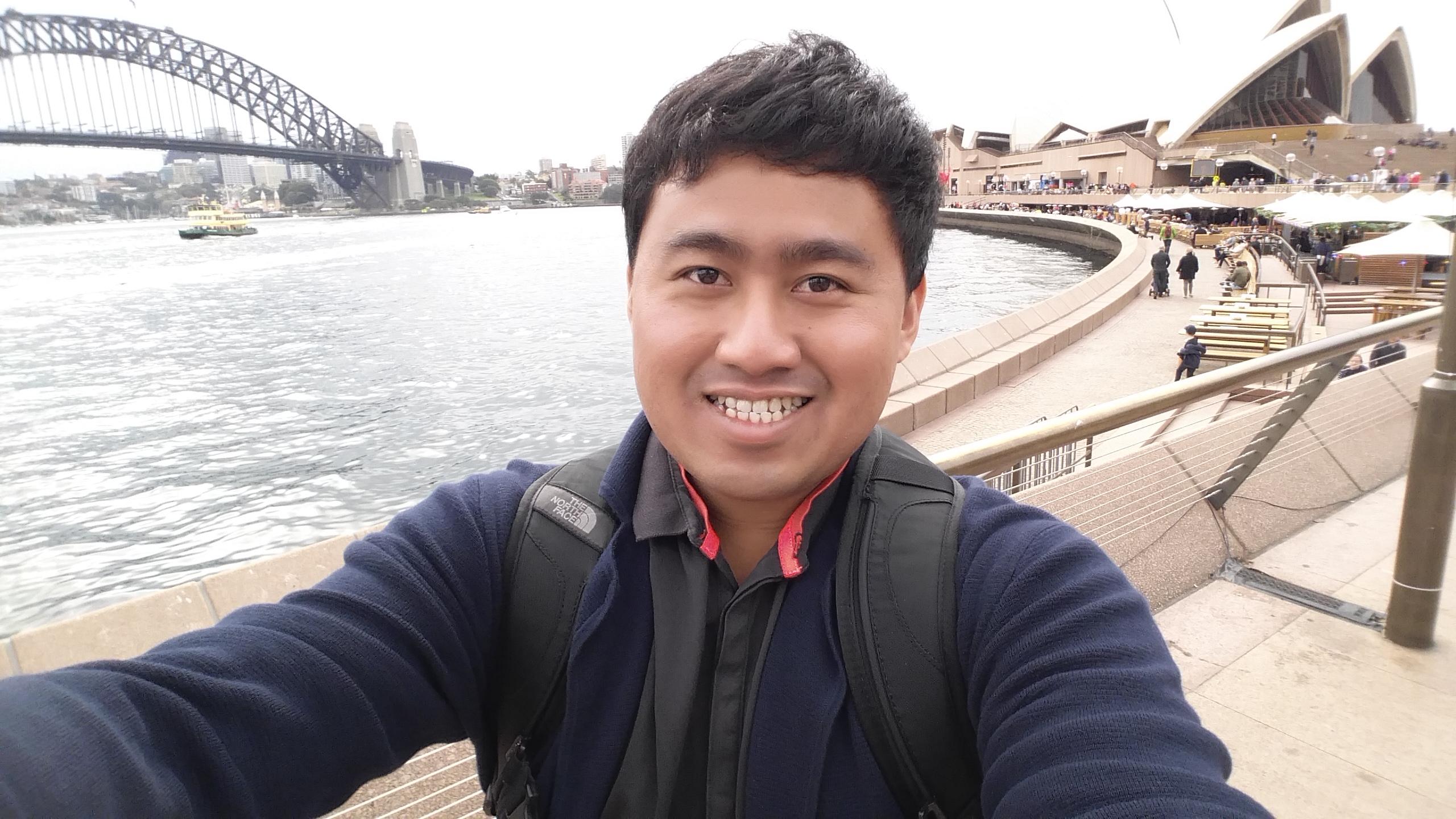 Jay Chua at Sydney Opera House