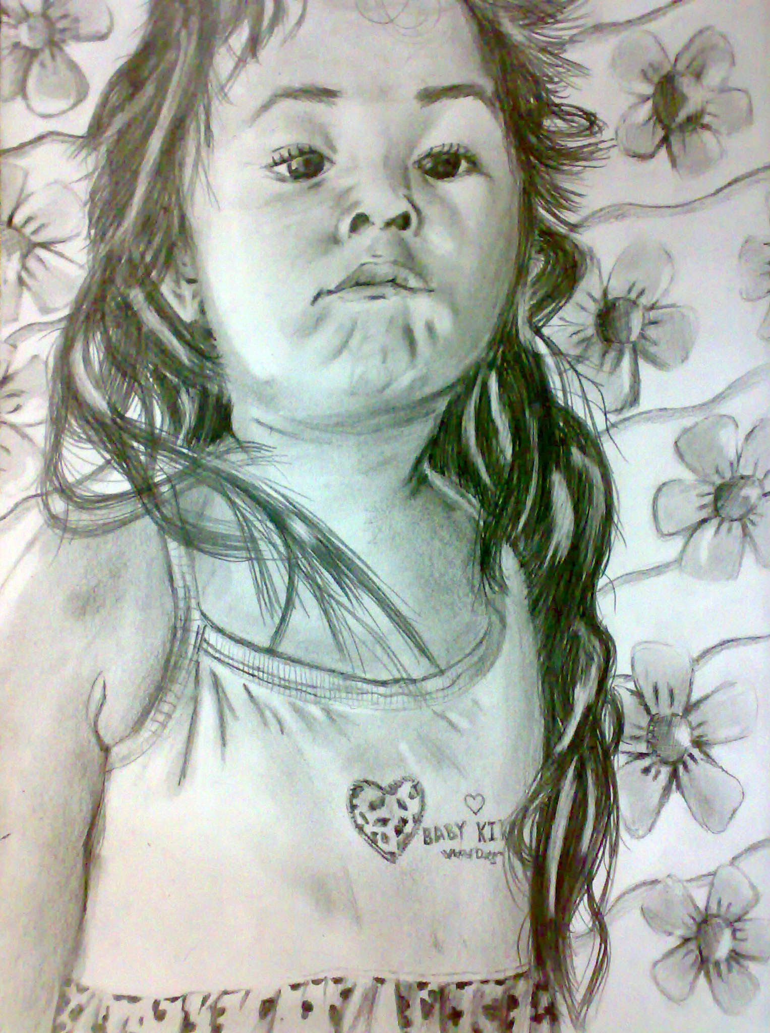 Kid (Pencil Drawing)
