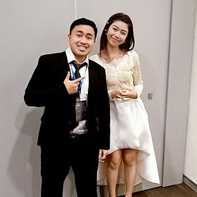 Jay Chua 蔡戔倡 and Priscilla Abby 蔡恩雨