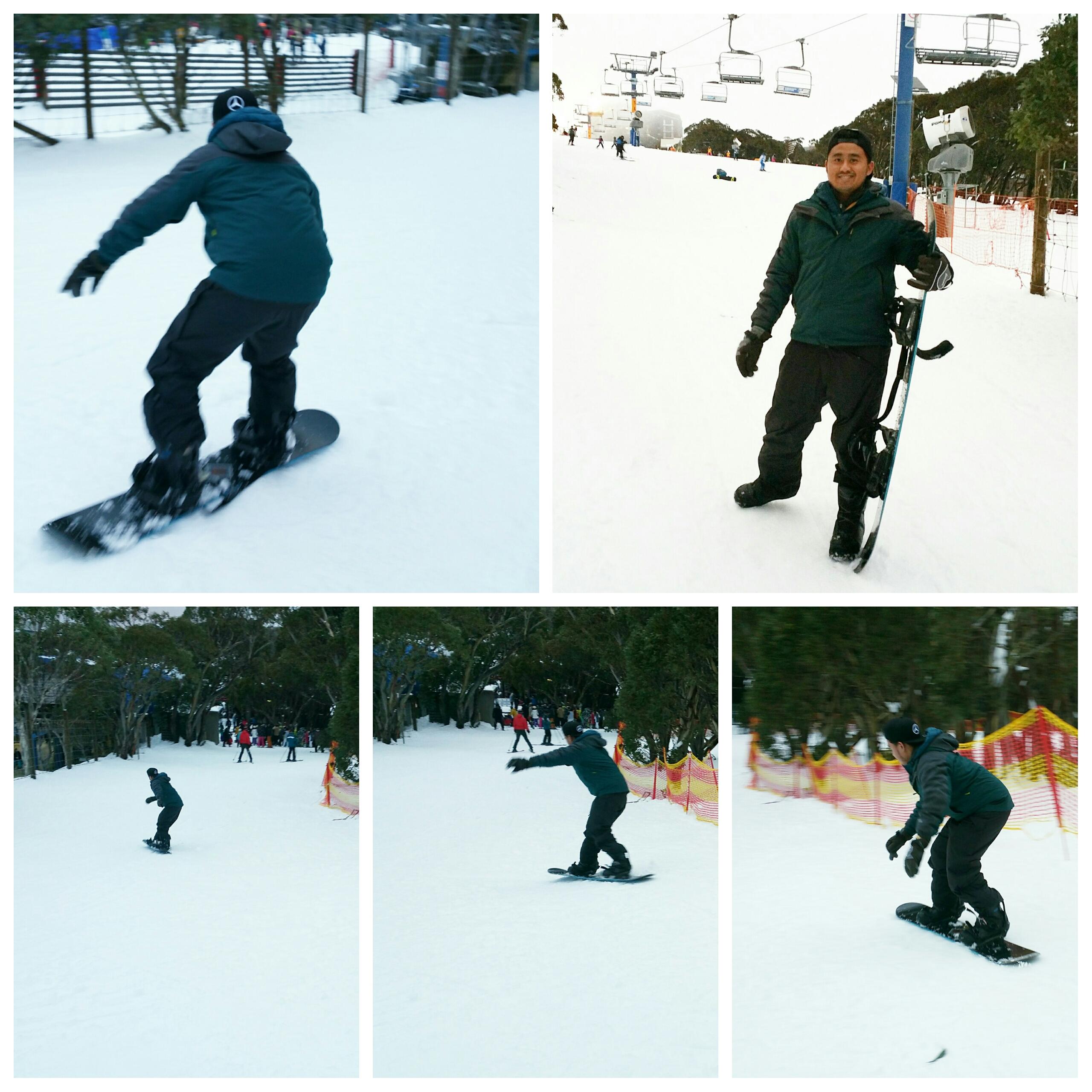 Jay Chua snowboarding skill.