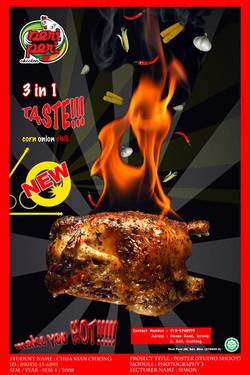 Roaster Chicken Poster