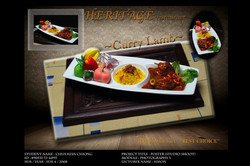 Curry Lamp Rice Poster