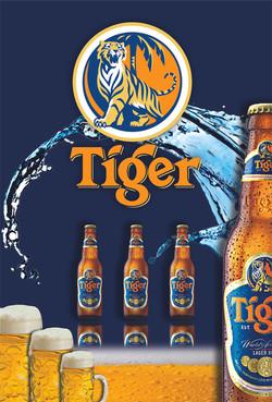 Tiger Wall Sticker Design