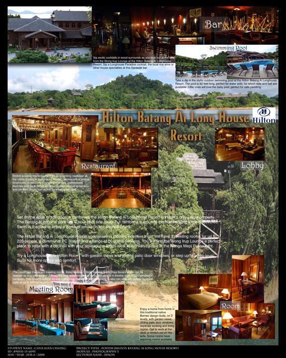 Batang Ai Hilton Resort Poster