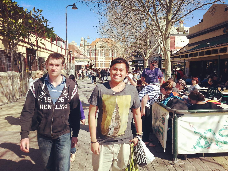 Jay Chua at Fremantle Perth Au
