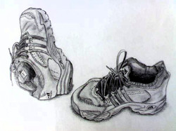 Shoes (Pencil Drawing)