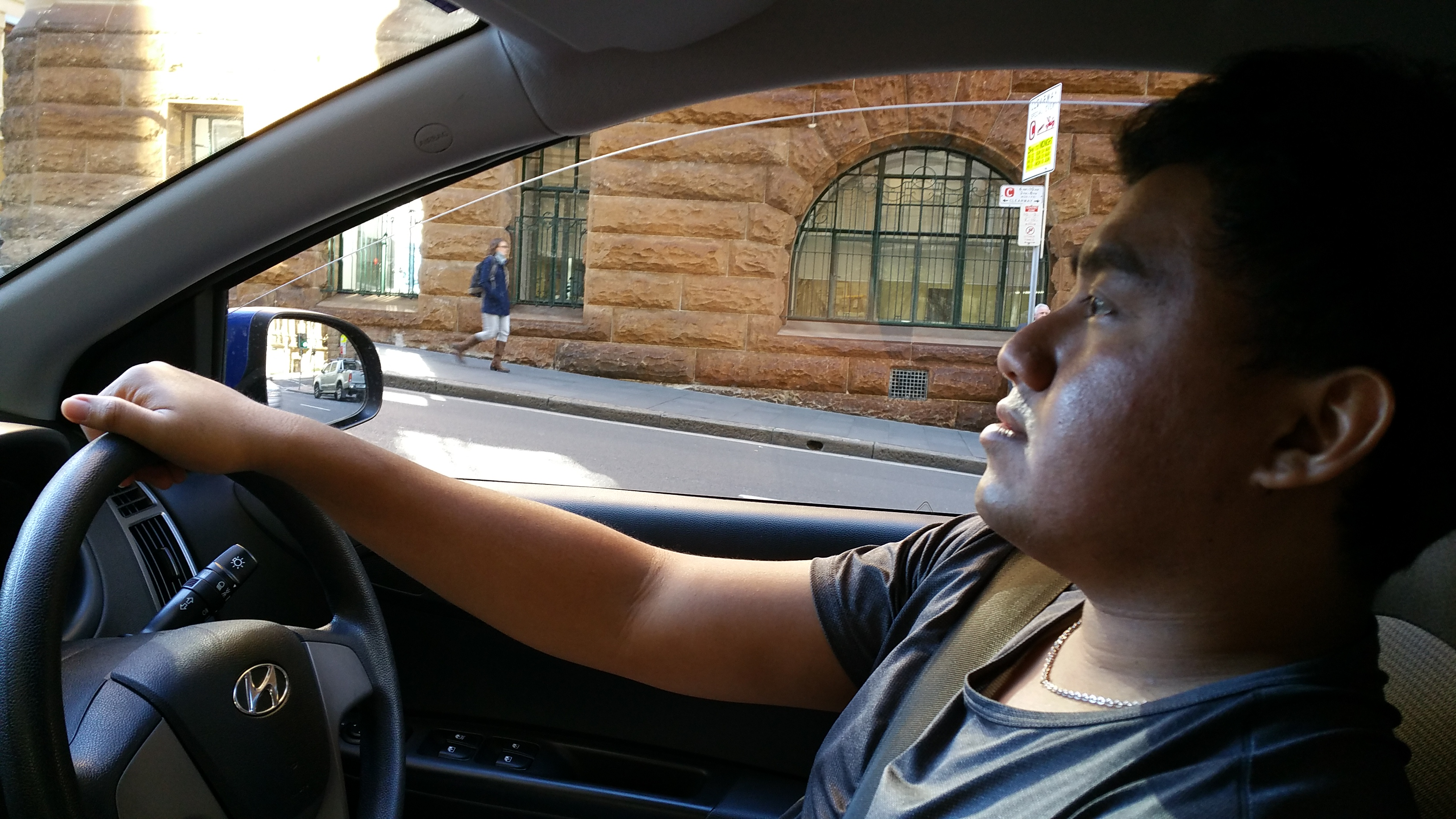 Jay Chua driving in Sydney Australia