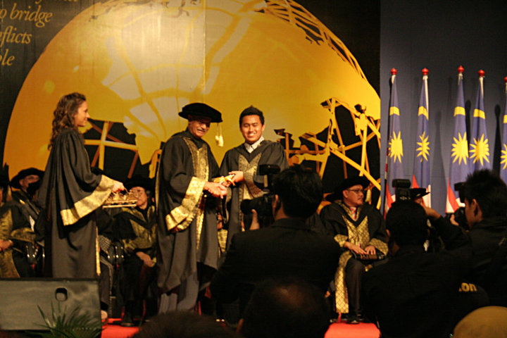 Jay Chua Graduation