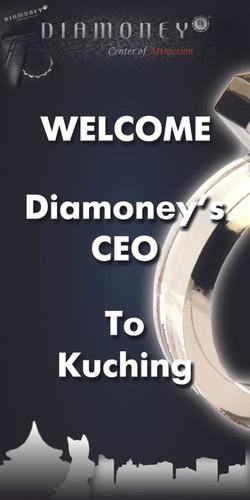 Diamoney Banner Design